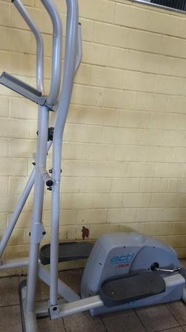 Bicicleta ergométrica e um aparelho act! home fitness caloi - Foto 6