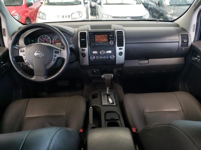 Nissan Frontier 2014 4x4 SL 190cv Extra !! - Foto 8