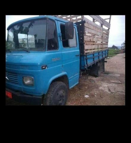 Caminhão mercedinha 608 ano 75