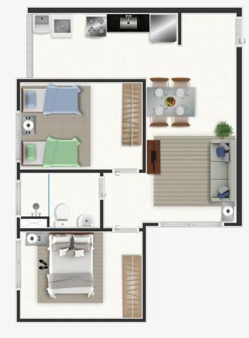 Apartamentos a Partir de R$ 117.000,00 - Columbia Residencial - Foto 12
