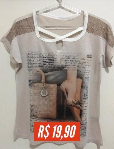 T-shirt Estampada - Foto 5