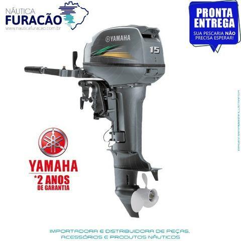 Motor de Popa Yamaha 15hp (Partida Manual)