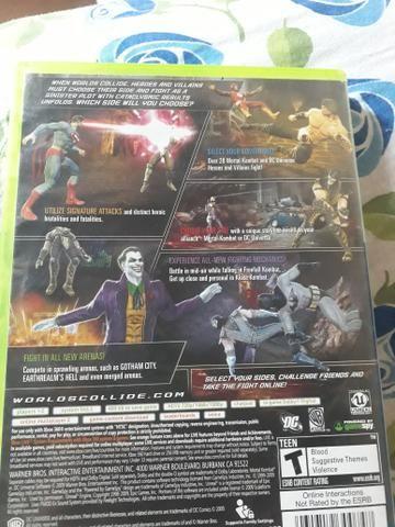 Vendo Mortal kombat vs DC Universe Xbox 360 - Foto 2