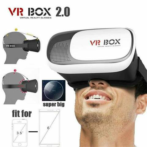 VR Box Óculos 3D de Realidade Virtual - Foto 2