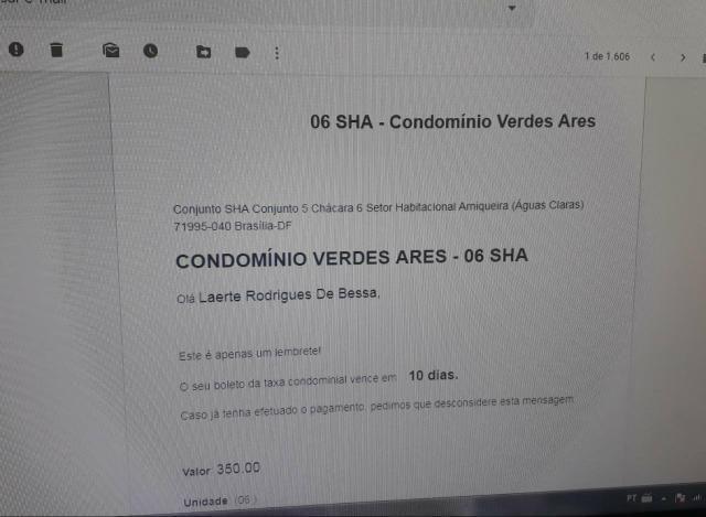 Vicente Pires Rua 2 Casa 3 qts 3 suítes 3 closets condomínio só 730mil Ac Imóvel - Foto 7