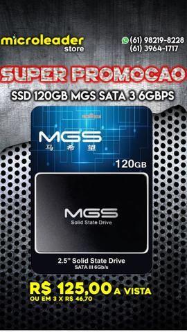 SSD 120gb mgs com garantia e nota fiscal e na microleader