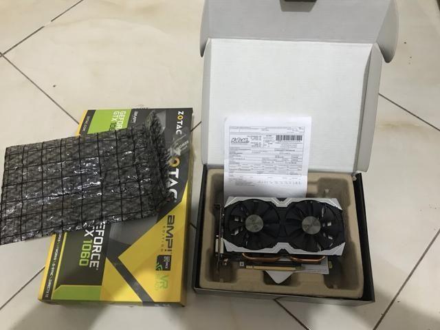 Placa de vídeo Gtx 1060 Zotac 6gb - Foto 4