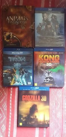 Vendo coleção de blu-ray vários títulos em 3d - Foto 2