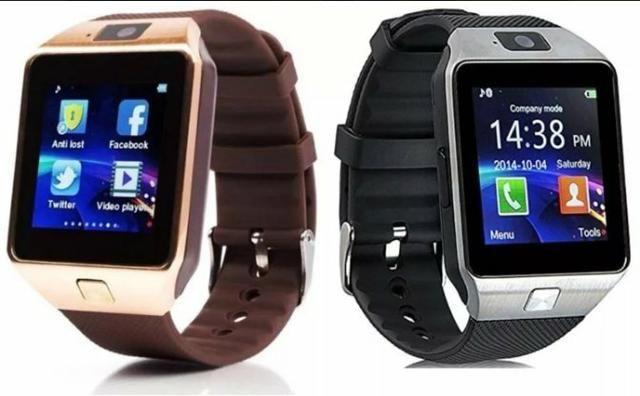 de54861b6a6 Relógio celular smartwatch Dz-09 bluetooth - Celulares e telefonia ...