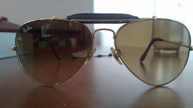Óculos de Sol Ray Ban Caçador Original - Bijouterias, relógios e ... cd69aa247c