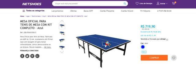 ff217e2a1 Mesa Oficial de ping pong nova