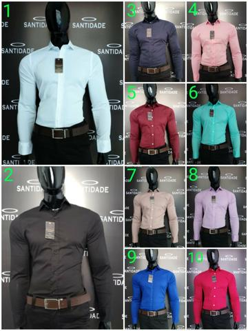 d7470d4e4d Veja Como Você Pode Obter Camisas Sociais Slim Facilmente Agora! Chame no Zap  99981079224