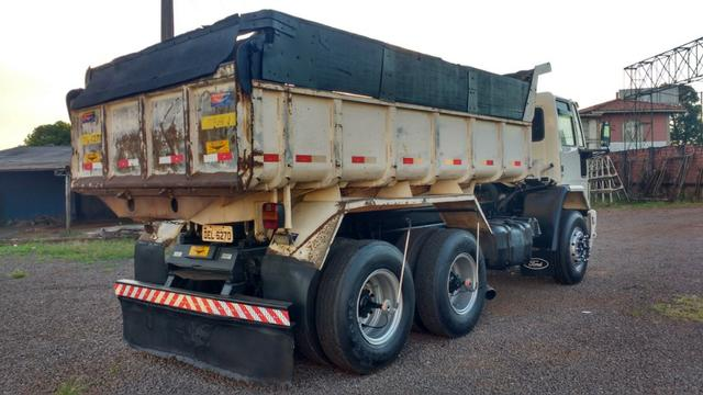 Ford Cargo 1622 truck 6x2 com caçamba Rosseti 10m3 unico dono - Foto 13