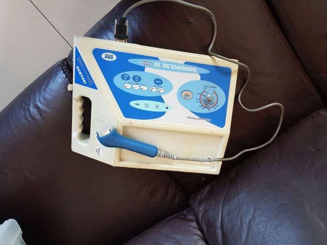 Vendo ultra-som de 1 e 3 Mghtz sonopulse ibramed - Foto 2
