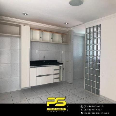 Apartamento com 2 dormitórios à venda, 68 m² por R$ 230.000 - Expedicionários - João Pesso - Foto 3