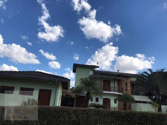 Casa com 4 dormitórios para alugar, 578 m² por R$ 12.000,00/mês - Condomínio Helvetia Coun - Foto 4