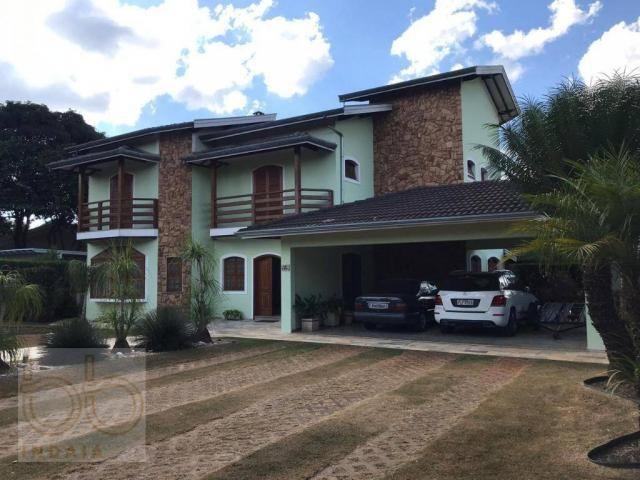 Casa com 4 dormitórios para alugar, 578 m² por R$ 12.000,00/mês - Condomínio Helvetia Coun - Foto 13