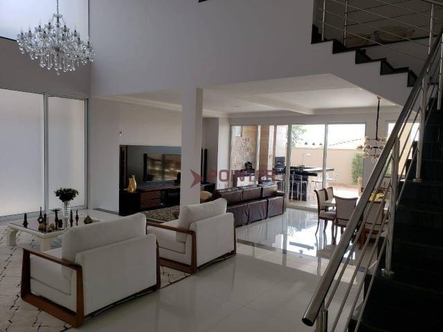 Sobrado à venda, 490 m² por R$ 2.400.000,00 - Alphaville Flamboyant Residencial Araguaia - - Foto 2
