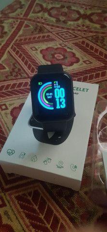 Smartwatch D20 Y68 Lindo - Foto 4