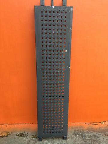 Pisos Metálicos 1,50m x 0,37m Reforçado -Novo