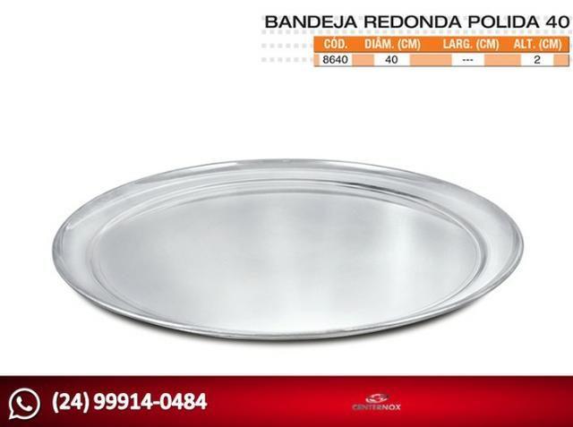 Bandeja Redonda - Foto 3