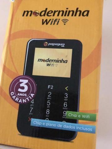 Máquina de cartão de crédito moderninha
