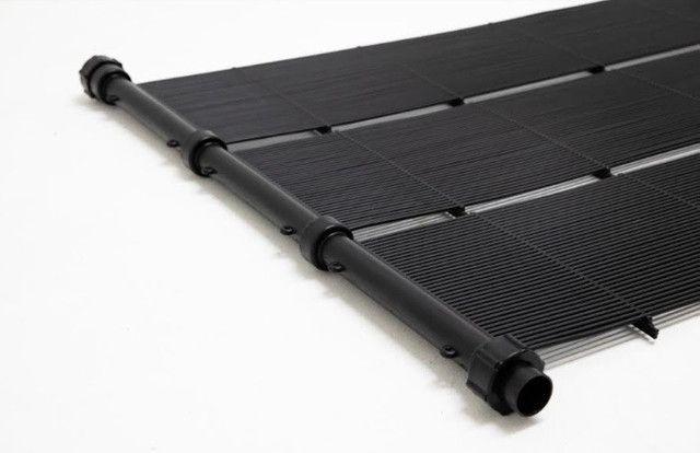 Kit Aquecedor Solar Piscina 15,75 m2 (05 Placas 3m) Pratic - Foto 2