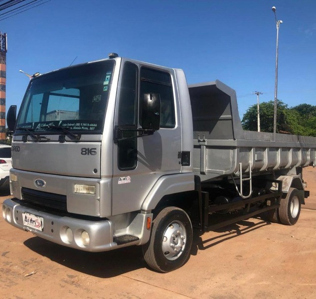 caminhao ford cargo 816 basculante 2013 - Foto 3