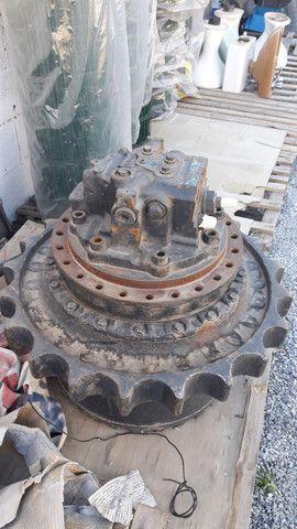 Motor de tracao da escavadeira komatsu
