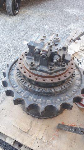 Motor de tracao da escavadeira komatsu  - Foto 3