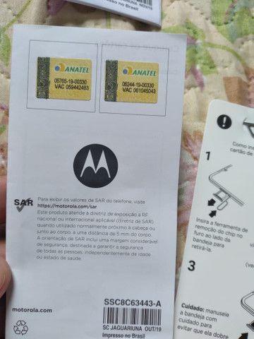 Motorola moto G8 plus azul Zafira