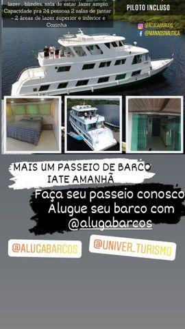 Alugue de barcos e lanchas em manaus !Passeio privativo  - Foto 4