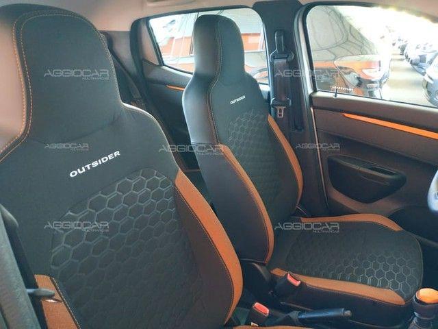 Renault KWID OUTSIDER 1.0 2021 700 km ipva pago - Foto 16