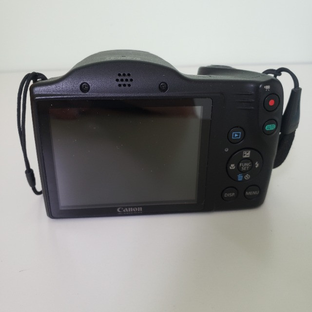 Câmera Digital Compacta Canon PowerShot SX400 IS 16MP Preto - Foto 3