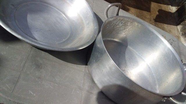 Kit Panela+Bacia Alumínio - Foto 3