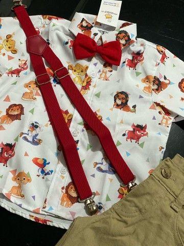 Roupa temática para o aniversário do seu filho roupa bebê  - Foto 5