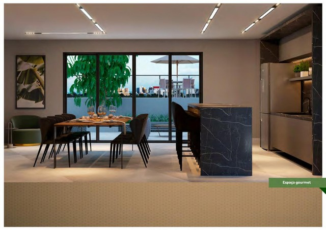 Apartamento para Venda em João Pessoa, Bessa, 2 dormitórios, 1 suíte, 2 banheiros, 1 vaga - Foto 3