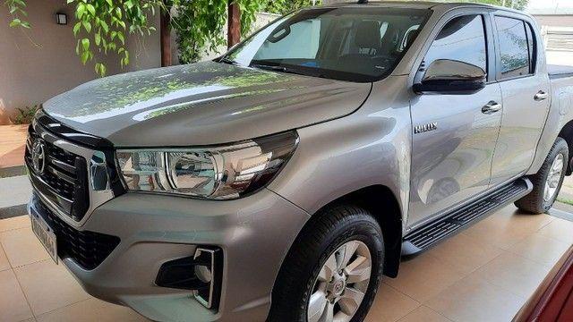 Toyota Hilux CD SR 4x4 2.8 TDA diesel aut. 2020/2020 - Foto 10