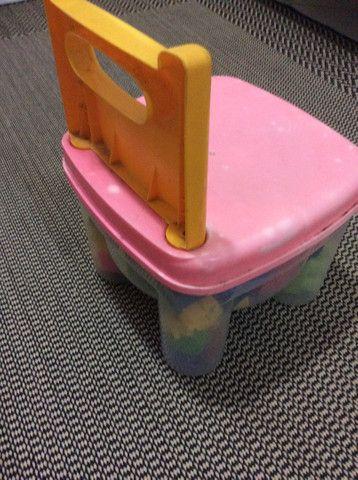 Cadeirinha de Lego. - Foto 3