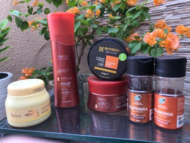 Produtos p/ cabelos ruivos - Foto 2