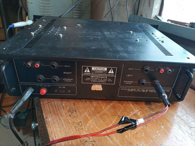 Amplificador de potência attack - Foto 3