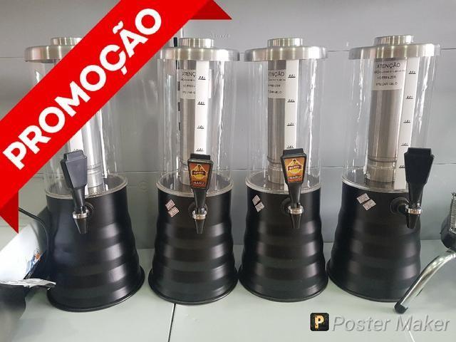 Promoção kit com 4 Choppeiras - Novo com garantia