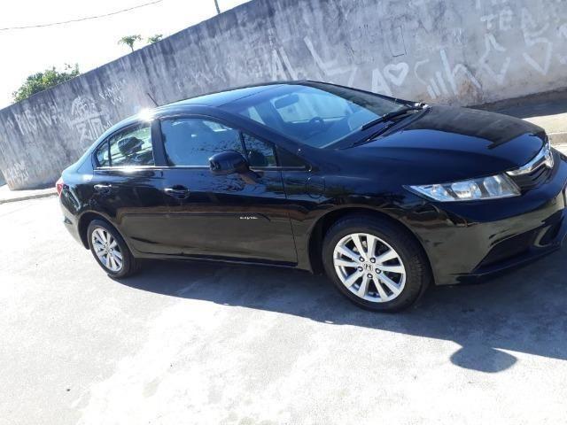Honda Civic 2012 LXS Automático Banco De Couro  48000 KM   2012