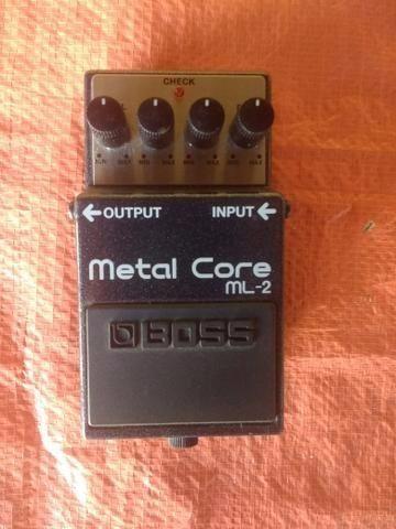 Metal core boss