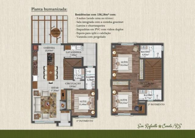 Casa residencial à venda, reserva da serra, canela. - Foto 10