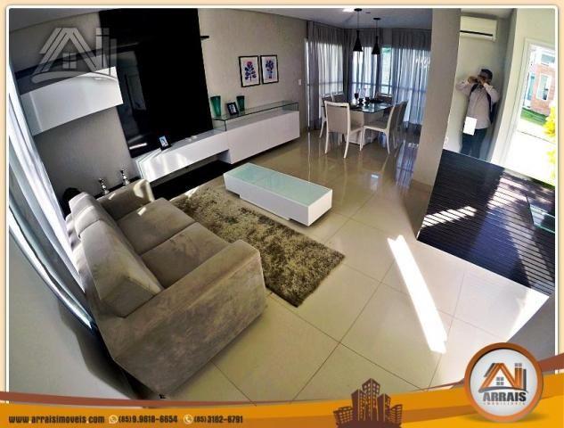 Vendo casa duplex em condomínio c/ 3 suítes no Eusébio - Foto 7
