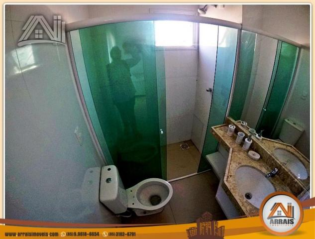 Vendo casa duplex em condomínio c/ 3 suítes no Eusébio - Foto 18