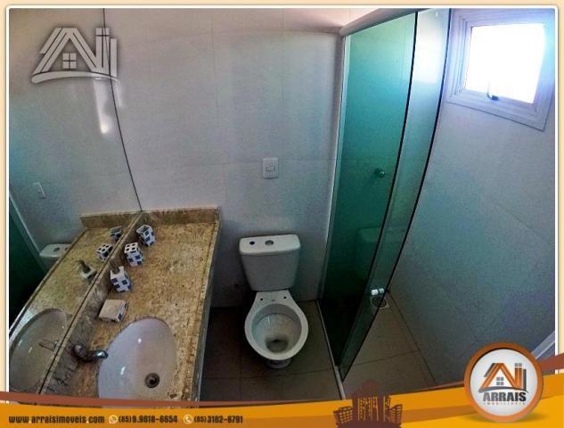 Vendo casa duplex em condomínio c/ 3 suítes no Eusébio - Foto 14