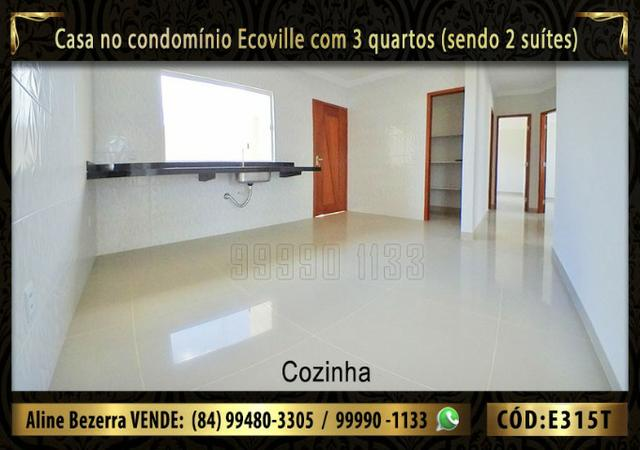 Oportunidade, casa no Ecoville com 3 quartos sendo 2 suítes, aceita financiamento - Foto 4
