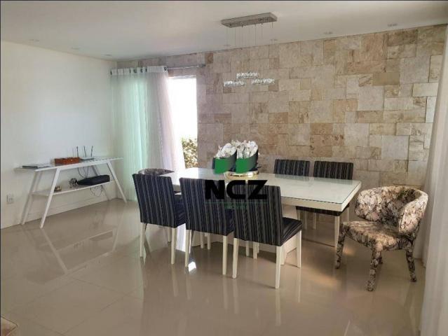 Casa lindíssima 4 suítes em alphaville litoral norte 1!!! - Foto 7